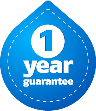 Our fantastic 1 year guarantee plumbing Redditch