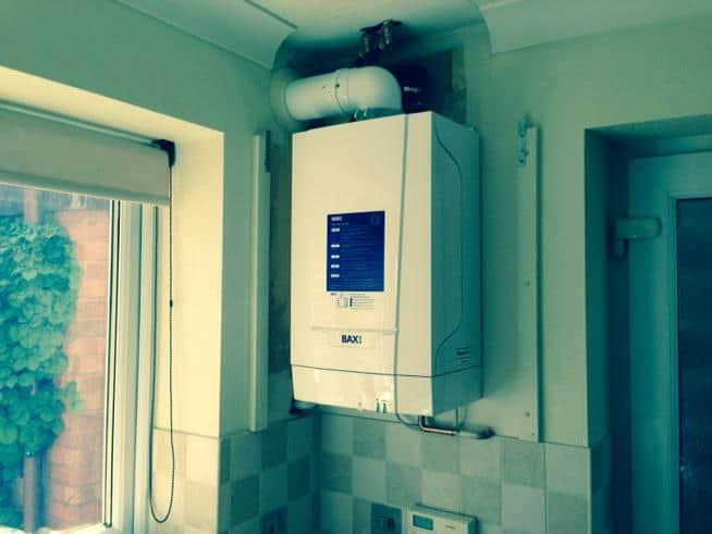 Baxi replacement boiler