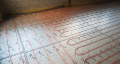 Installing under floor heating in Birmignham