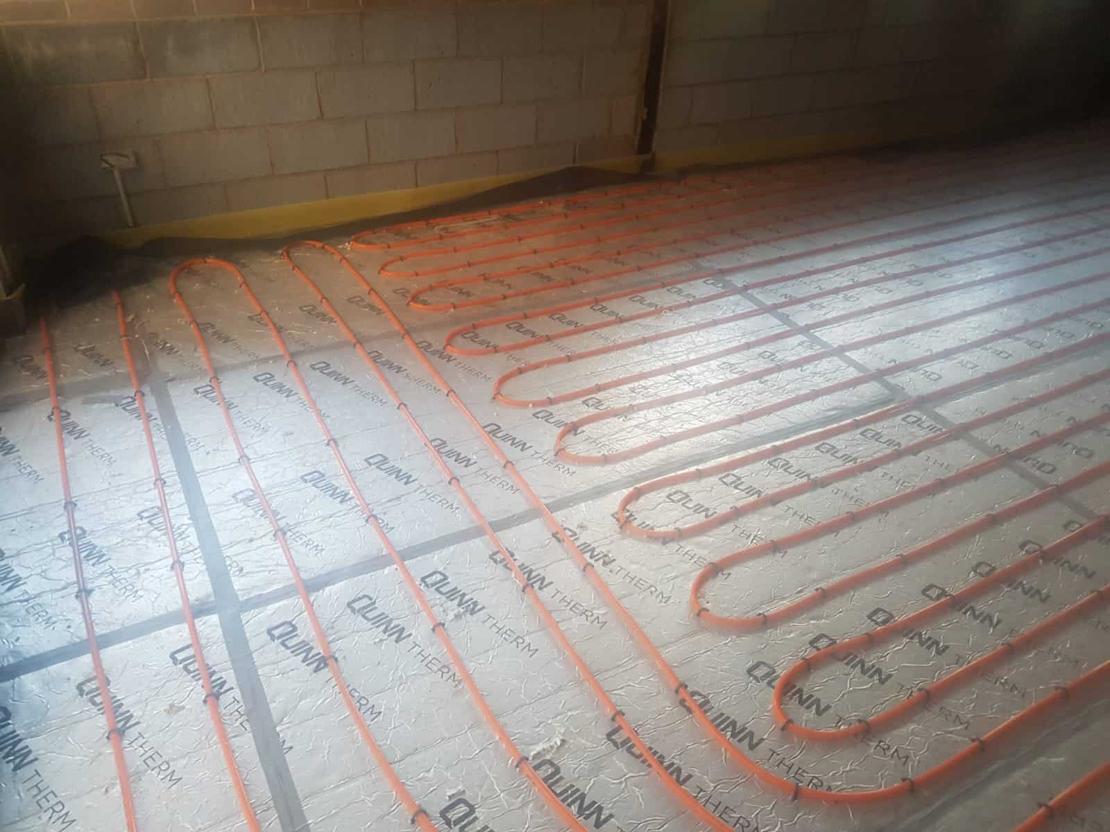 Installing under floor heating in Birmignham